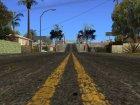 Новые улицы и тротуары в HD 2015 для GTA San Andreas вид сверху