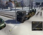 Winter mod for Euro Truck Simulator 2 top view