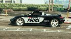 Porsche Carrera GT Cop for GTA 5 left view