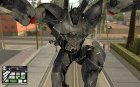 Bat Suit for GTA San Andreas inside view