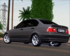 BMW 320 e46 Sedan for GTA San Andreas rear-left view