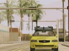 Nissan Sentra Taxi for GTA San Andreas inside view