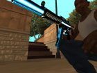 MP5 Fulmicotone для GTA San Andreas вид сзади
