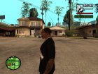 "Футболка с знаком зодиака ""Козерог"" для GTA San Andreas вид слева"