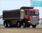 Scania P420 8x4 Dumper