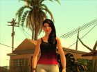 Lana from The Sims 4 для GTA San Andreas вид слева
