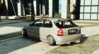Honda Civic Hatchback 1.1 для GTA 5 вид слева