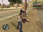 Больше анимаций смертей v2.0 для GTA San Andreas вид сбоку