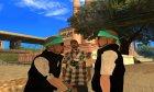 Пак HD скинов для SA-MP for GTA San Andreas top view