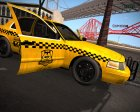 Ford Crown Victoria Taxi из Resident Evil: ORC для GTA San Andreas вид справа