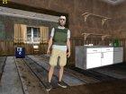 Skin HD GTA Online в хокейной маске для GTA San Andreas вид слева