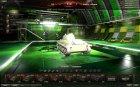 Ангар от Genius89 (премиум) for World of Tanks rear-left view