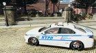 Honda Accord Type R NYPD (City Patrol 2322) for GTA 4 left view