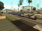 Плацкартный вагон УЖД for GTA San Andreas left view