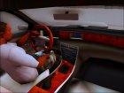 1996 Lincoln Mark VIII для GTA San Andreas вид изнутри