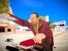 Бандит в малиновом пиджаке for GTA San Andreas top view