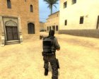 Phoenix Soldier для Counter-Strike Source вид сзади слева