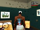 Новое цветное тату Parkway Drive для GTA San Andreas вид слева