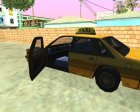 Taxi-New Texture for GTA San Andreas left view