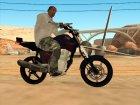 Honda Titan Stunt for GTA San Andreas left view