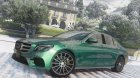 2017 Mercedes-Benz E400 W213 for GTA 5 rear-left view