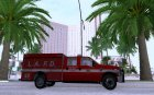 Ford F-350 Super Duty LAFD для GTA San Andreas вид сверху