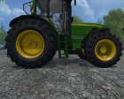 John Deere 6630 Weight FL для Farming Simulator 2015 вид изнутри