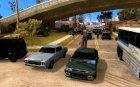 Проект Х на Grove Street for GTA San Andreas rear-left view