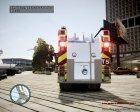 Новая пожарная машина для GTA 4 вид сбоку