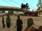 HD Пак банд Los Santos'а for GTA San Andreas inside view