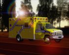 Ford E-450 Quebec Ambulance 1986 для GTA San Andreas вид слева