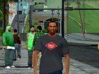 HD CJ Dark T-Shirt 2016 для GTA San Andreas вид сверху