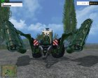 Krone Big M500 ATTACH V 1.0 for Farming Simulator 2015 rear-left view