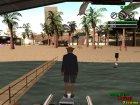Парень-Свинья для GTA San Andreas вид сзади слева