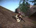 Талибский армеец v9 for GTA San Andreas back view