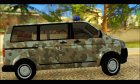 Volkswagen Transporter Camo for GTA San Andreas left view