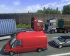 Russian Traffic Pack v1.1 for Euro Truck Simulator 2 left view