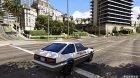 1985 Toyota Sprinter Trueno GT Apex (AE86) 7.5 for GTA 5 left view