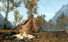 Campfire v 1.1 Rus for TES V Skyrim left view