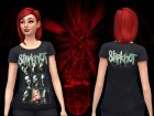 SlipKnoT TShirts for Sims 4 inside view