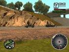 Новый cпидометр для GTA San Andreas вид изнутри