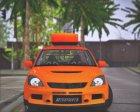 Mitsubishi Lancer Evolution IX MR LPcars for GTA San Andreas rear-left view