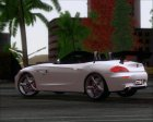 BMW Z4 2011 sDrive35is 2 Extras (HQ) for GTA San Andreas back view