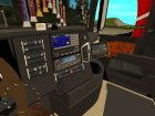 Mersedes Benz Actros for GTA San Andreas inside view