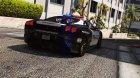 Ferrari F430 Scuderia Hot Pursuit Police for GTA 5 rear-left view