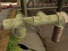 Новые канализационные трубы для GTA San Andreas вид сверху