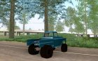 Chevrolet Apache off road для GTA San Andreas вид сзади слева