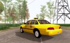 1992 Ford Crown Victoria Taxi for GTA San Andreas left view