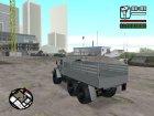 Урал Мексиканской армии для GTA San Andreas вид сверху