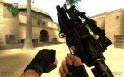 Default M4a1 + M203 для Counter-Strike Source вид сзади слева